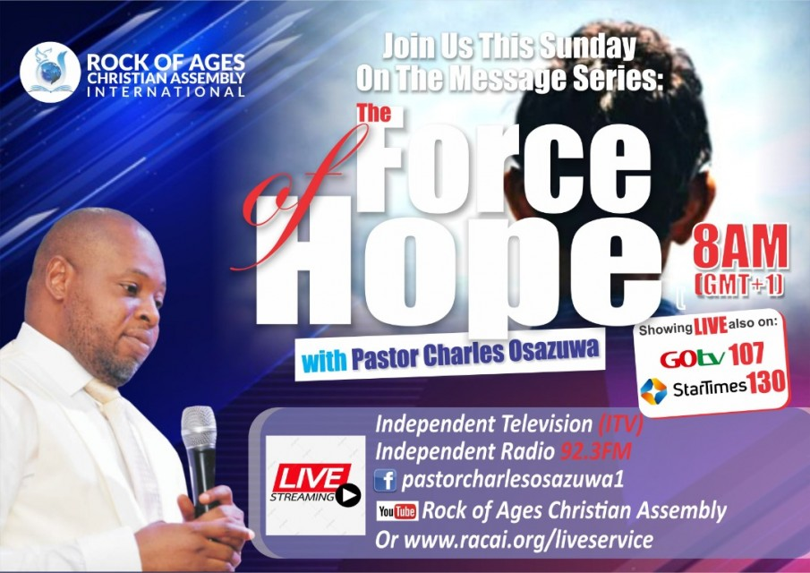 FORCE OF HOPE MESSAGE SERIES