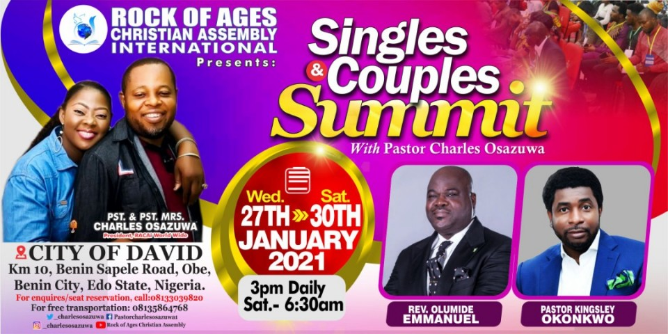 Singles & Couples International Conference 2021
